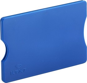 Various NFC/RFID blocking sleeves in the credit cards-format, 3-pack