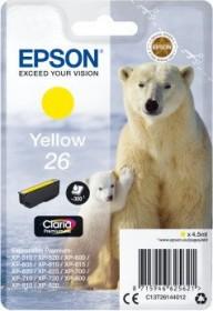 Epson Tinte 26 gelb (C13T26144010)