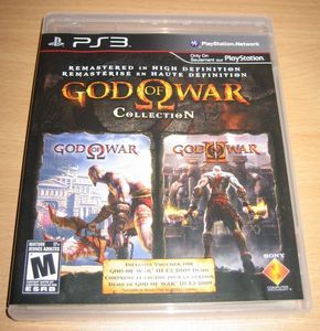 God of War Collection (englisch) (PS3) -- © bepixelung.org