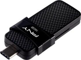 PNY Duo Link OTG Type C 3.1 16GB, USB-C 3.0/USB-A 3.0 (P-FD16GOTGSLTC-GE)