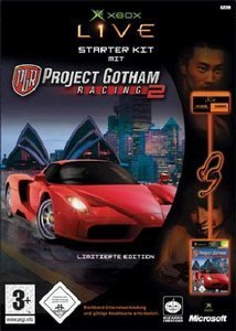 "Project Gotham Racing 2 + Xbox Communicator (""Starter Pack NEU"") (niemiecki) (Xbox)"