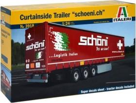 Italeri Curtainside Trailer (3809S)