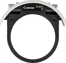 Canon drop-in filter holder for 52mm screw-on filter (2612A001)