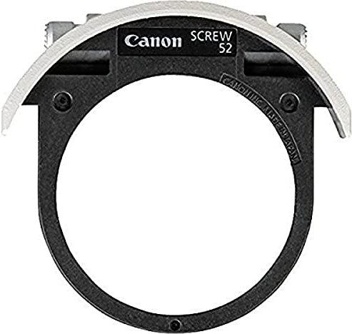 Canon drop-in filter holder for 52mm screw-on filter (2612A001) -- via Amazon Partnerprogramm