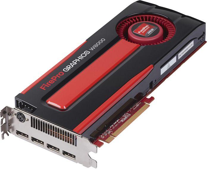 AMD FirePro W8000, 4GB GDDR5, 4x DP, SDI (100-505633/31004-30-40A)