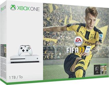 Microsoft Xbox One S - 1TB FIFA 17 Bundle white