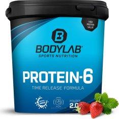 BodyLab24 Protein 6 Erdbeer 2kg