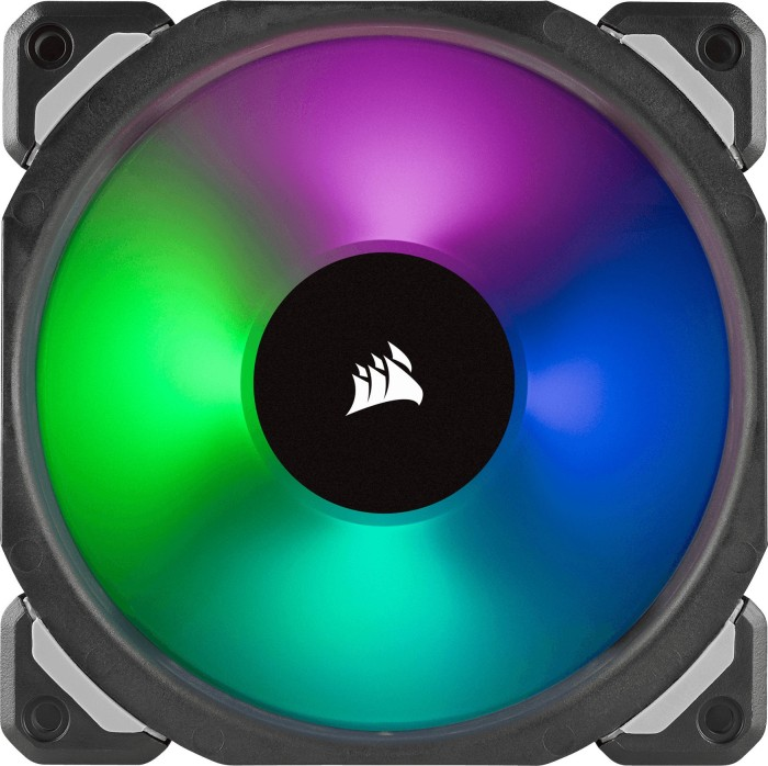 Corsair ML Series ML120 PRO RGB LED Premium Magnetic Levitation Fan, 120mm (CO-9050075-WW)