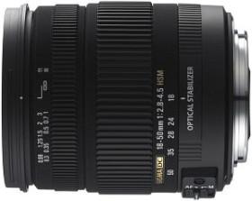 Sigma AF 18-50mm 2.8-4.5 DC OS HSM für Canon EF schwarz (861954)