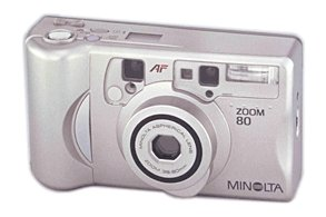 Konica Minolta zoom 80 kit