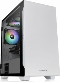 Thermaltake S100 TG Snow Edition weiß, Glasfenster (CA-1Q9-00S6WN-00)