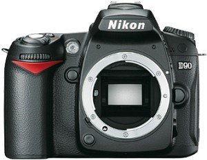 Nikon D90 schwarz Gehäuse (VBA230AE)