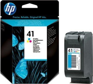 HP 41 Printhead with ink coloured (51641AE)