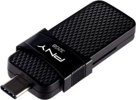 PNY Duo Link OTG Type C 3.1 32GB, USB-C 3.0/USB-A 3.0 (P-FD32GOTGSLTC-GE)