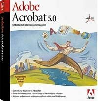 Adobe: Acrobat 5.0 - full version bundle (MAC)