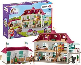 Schleich Horse Club - Large horse stable with house and stable (42416)