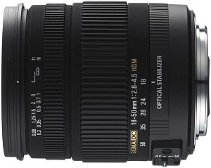Sigma AF 18-50mm 2.8-4.5 DC OS HSM for Sony A black (861962)