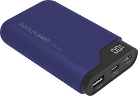Ultron Powerbank RealPower PB-7500C navy blue (333642)