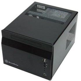 SilverStone Sugo SG06 USB 2.0 schwarz, 300W SFX12V, Mini-ITX/Mini-DTX (SST-SG06B)