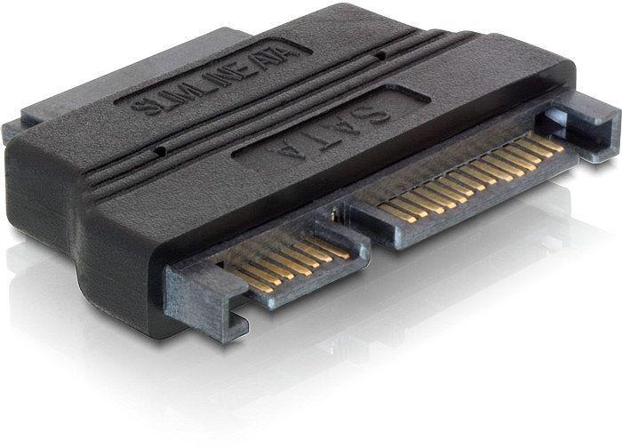 DeLOCK Slim-SATA > SATA 6Gb/s + SATA-Strom (65156)
