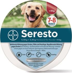 Bayer Seresto Zecken-Flohband für Hunde über 8kg, 70cm