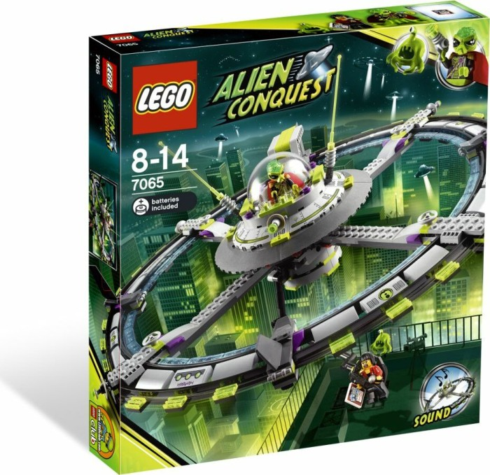 LEGO - Alien Conquest - Großes Alien-Raumschiff (7065) -- via Amazon Partnerprogramm