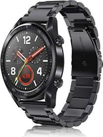 Fintie Gliederarmband für Huawei Watch GT 2 46mm schwarz