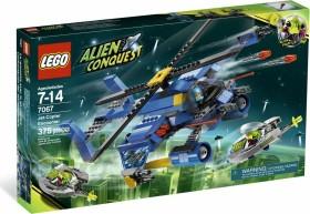 LEGO Alien Conquest - Einsatz im Rotor-Jet (7067)