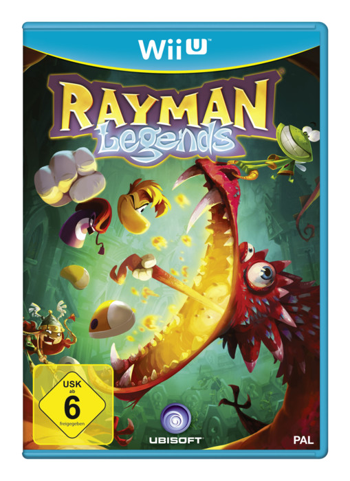 Rayman Legends (English) (WiiU)