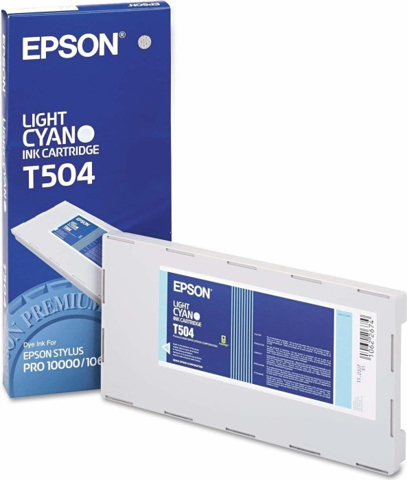 Epson ink T504 cyan light (C13T504011)