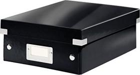 Leitz Click & Store WOW Organisationsbox klein, schwarz (60570095)