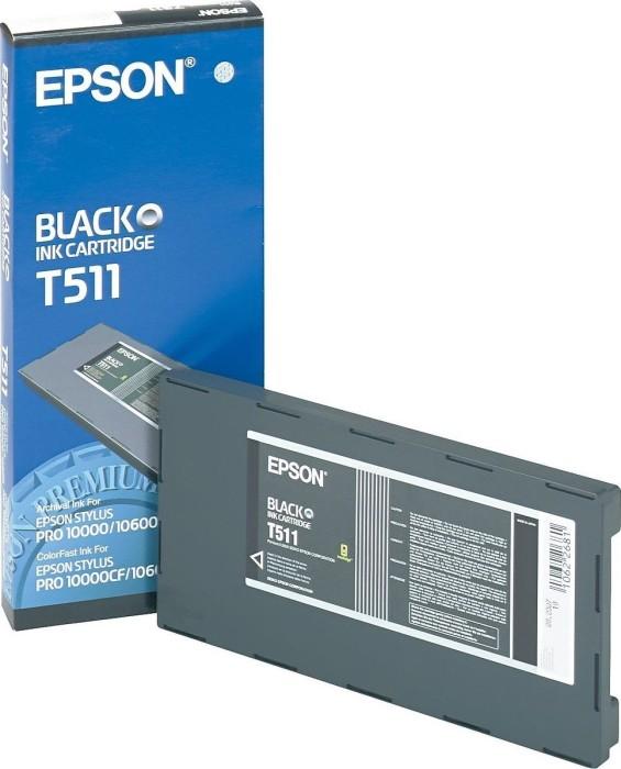 Epson T511 Tinte schwarz (C13T511011)