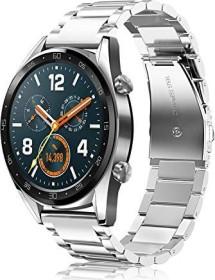 Fintie Gliederarmband für Huawei Watch GT 2 46mm silber