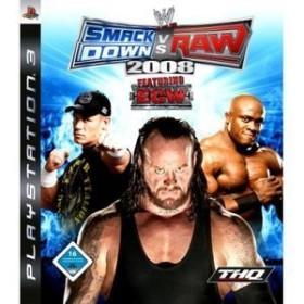 WWE Smackdown! vs. Raw 2008 (PS3)