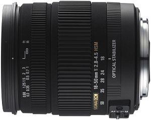Sigma AF 18-50mm 2.8-4.5 DC OS HSM für Sigma schwarz (861956)