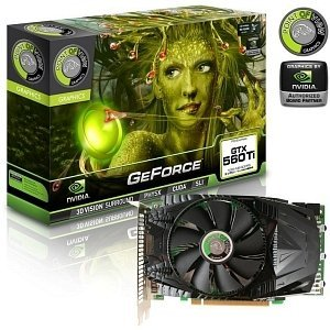 Point of View GeForce GTX 560 Ti PoV-Design, 1GB GDDR5, 2x DVI, mini HDMI (VGA-560-A1-1024)