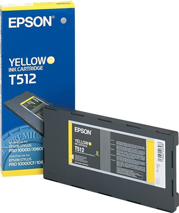 Epson ink T512 yellow (C13T512011)