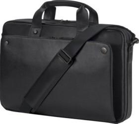 HP Executive Topload-leather case, black (1LG83AA)