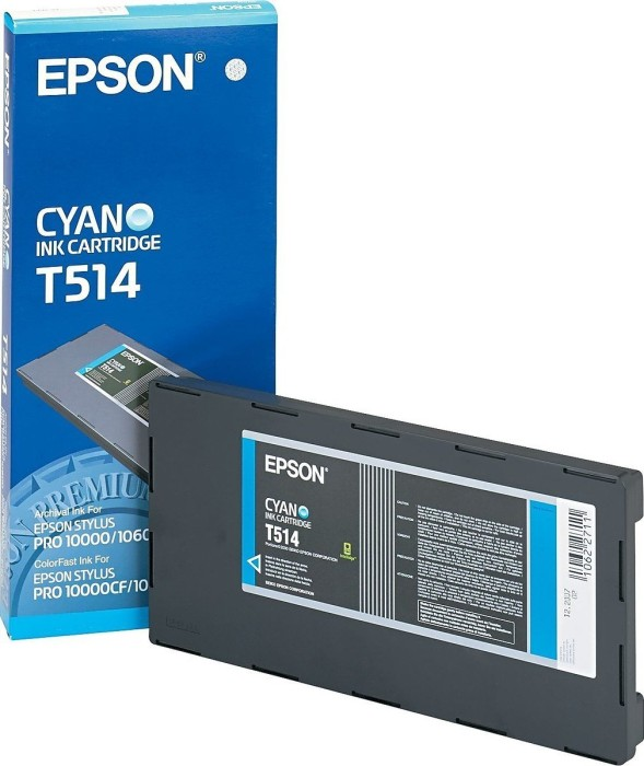 Epson T514 Tinte cyan (C13T514011)