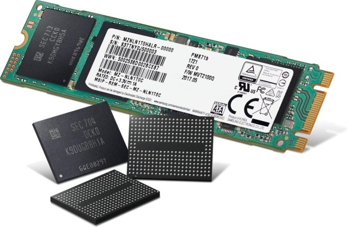 Samsung SSD PM871b 128GB, M 2 (MZNLN128HAHQ-00000) from £ 79 99