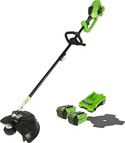 Greenworks Tools GD40BC cordless lawn trimmer incl. 2 Batteries 2.0Ah (1301507UC)