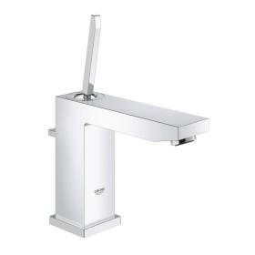 """Grohe Eurocube Joy one-hand-bathroom sink tap 1/2"""" M-Size with drain remote chrome (23657000)"""
