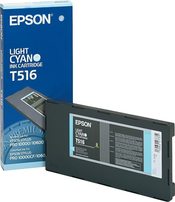 Epson T516 Tinte cyan hell (C13T516011)