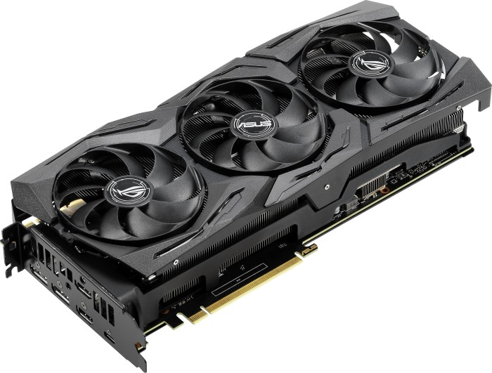 ASUS ROG Strix GeForce RTX 2080 OC, ROG-STRIX-RTX2080-O8G-GAMING, 8GB GDDR6, 2x HDMI, 2x DP, USB-C (90YV0C60-M0NM00)