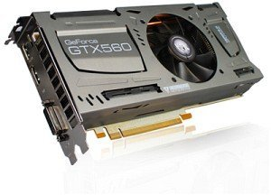 KFA² GeForce GTX 560 Ti LTD OC, 1GB GDDR5, DVI, HDMI, DisplayPort (56NGH6DP4HXJ)