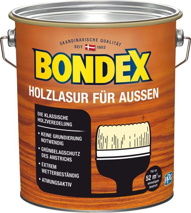 Bondex Holzschutz Lasur Aussen Ebenholz 4l Dose Ab 37 49 2019