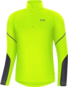 Gore Wear Mid Zip Shirt langarm neon yellow/black (Herren) (100530-0899)