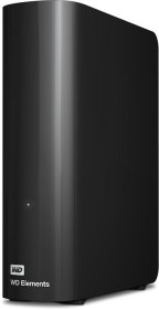 Western Digital WD Elements desktop black 10TB, USB 3.0 micro-B (WDBWLG0100HBK)