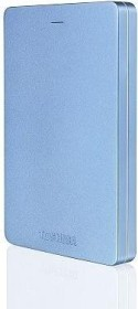 Toshiba Stor.E Canvio Alu blau 500GB, USB 3.0 Micro-B (HDTH305EL3AA)