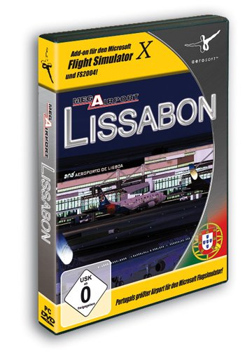 Flight Simulator X - Mega Airport Lissabon (Add-on) (deutsch) (PC)